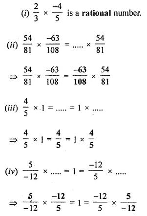 ICSE Understanding Mathematics Class 8 Solutions Chapter 1 Rational Numbers Ex 1.3 Q7.1