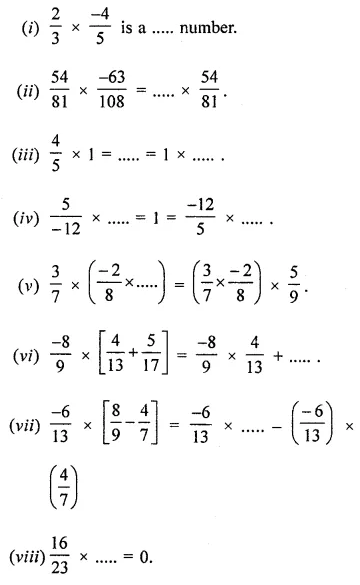 APC Maths Class 8 Solutions Chapter 1 Rational Numbers Ex 1.3 Q7