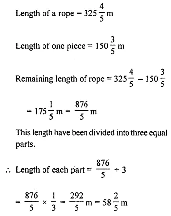 Maths Questions for Class 8 ICSE With Answers Chapter 1 Rational Numbers Ex 1.6 Q9