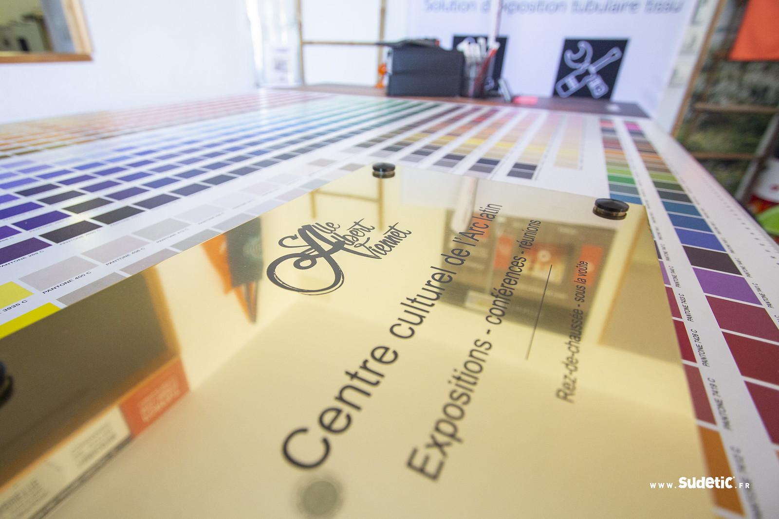 Sudetic Plaque or brillant Centre Culturel-5