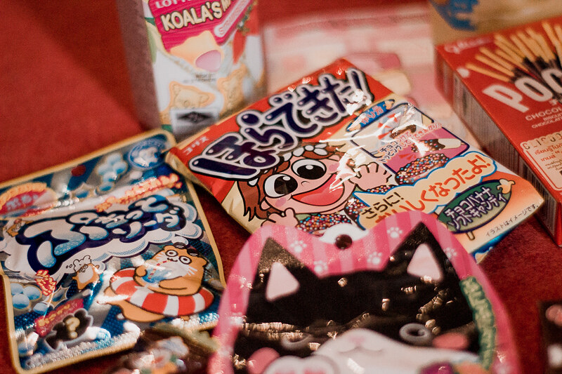 Japanese sweets and chocolates