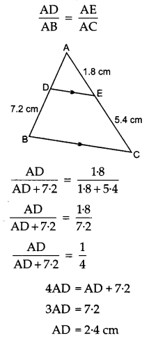 CBSE Previous Year Question Papers Class 10 Maths 2019 (Outside Delhi) Set I Q6.3