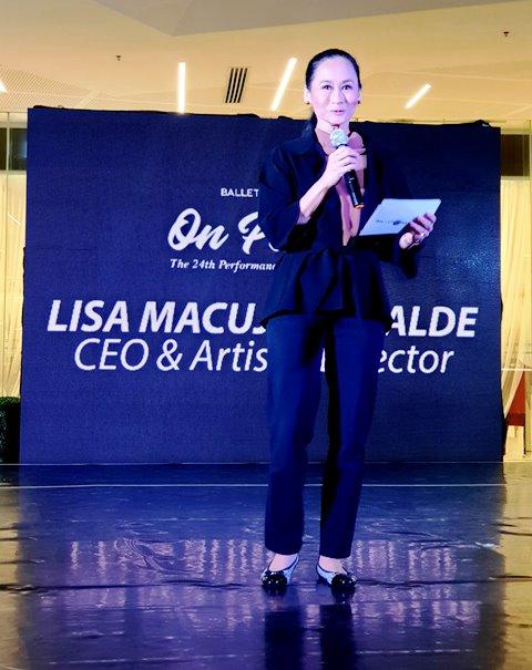 Ballet Manila On Pointe Lisa Macuja-Elizalde