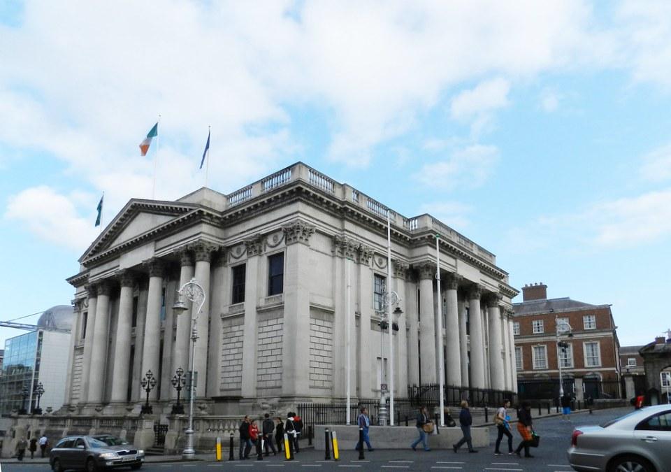 edificio exterior Ayuntamiento Dublin Republica de Irlanda 03