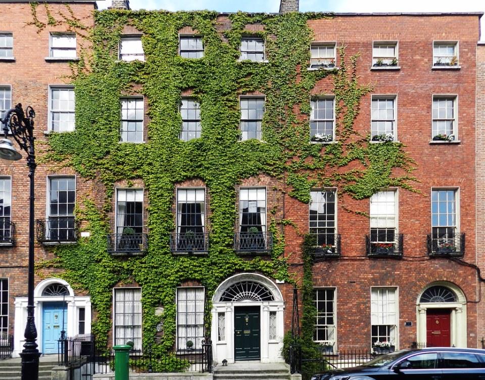 Casa georgiana en Dublin Republica de Irlanda 01