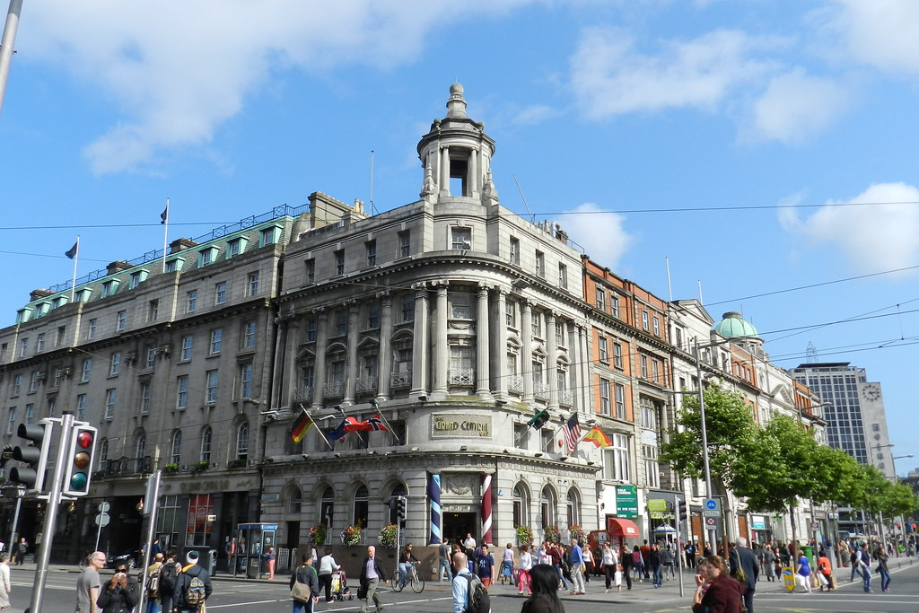 edificio Grand Central cafe bar Dublin Republica de Irlanda