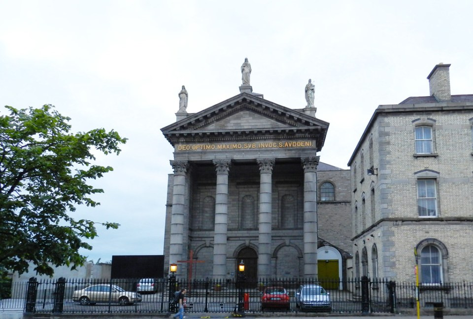 exterior Iglesia de San Audeon St. Audoen's Church Dublin Republica de Irlanda 01