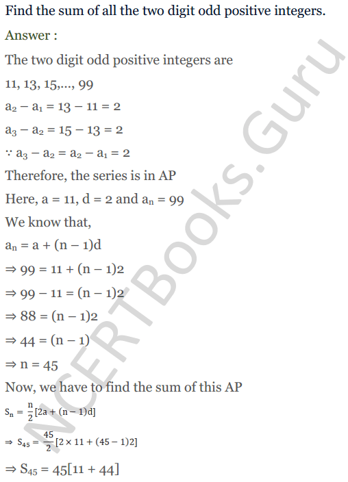 KC Sinha Maths Solution Class 10 Chapter 8 - Arithmetic Progressions (AP) - 148