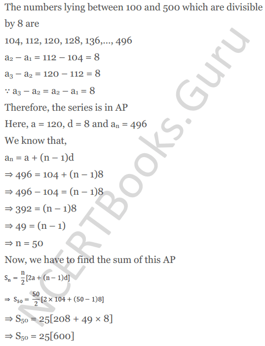 KC Sinha Maths Solution Class 10 Chapter 8 - Arithmetic Progressions (AP) - 152
