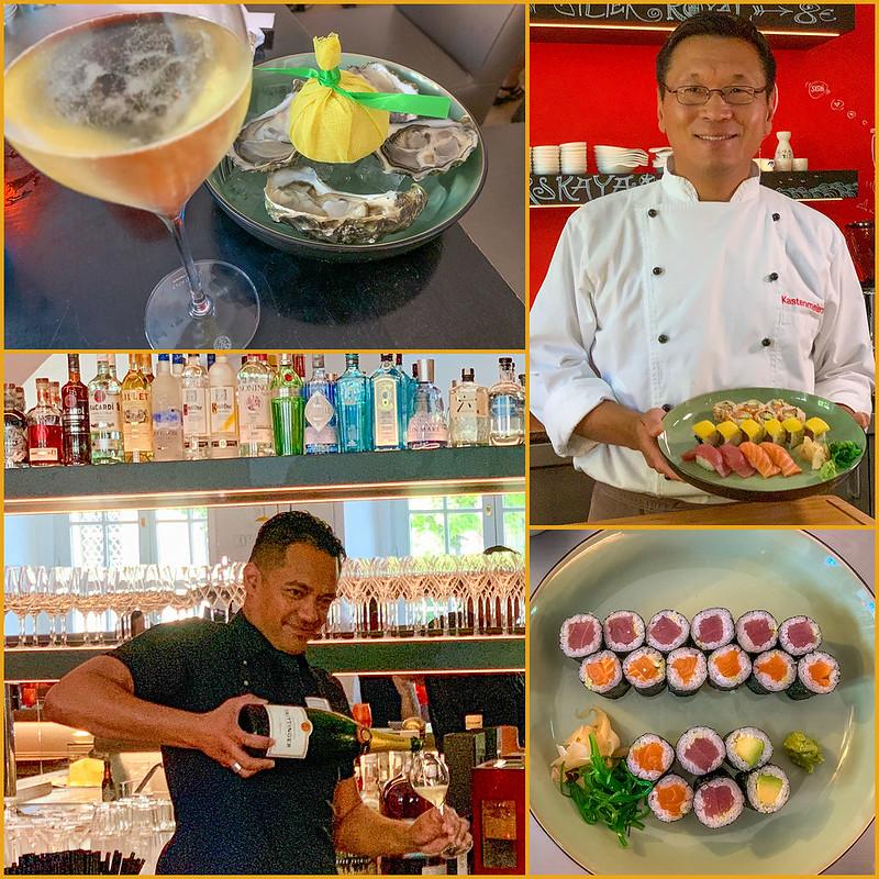 Sushi- und Austernbar