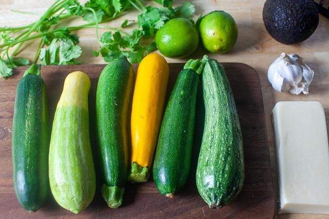 any zucchini you got