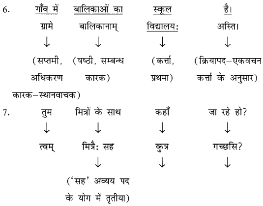 NCERT Solutions for Class 8 Sanskrit Chapter 8 अनुवादः 3