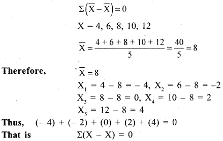 RBSE Solutions for Class 11 Economics Chapter 8 Arithmetic Mean 1