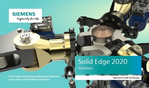 Siemens Solid Edge 2020 Multilang Win64