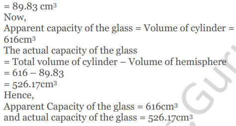 KC Sinha Maths Solutions Class 10 Chapter 14. Surface Areas and volumes - Ex 14.2 - 23