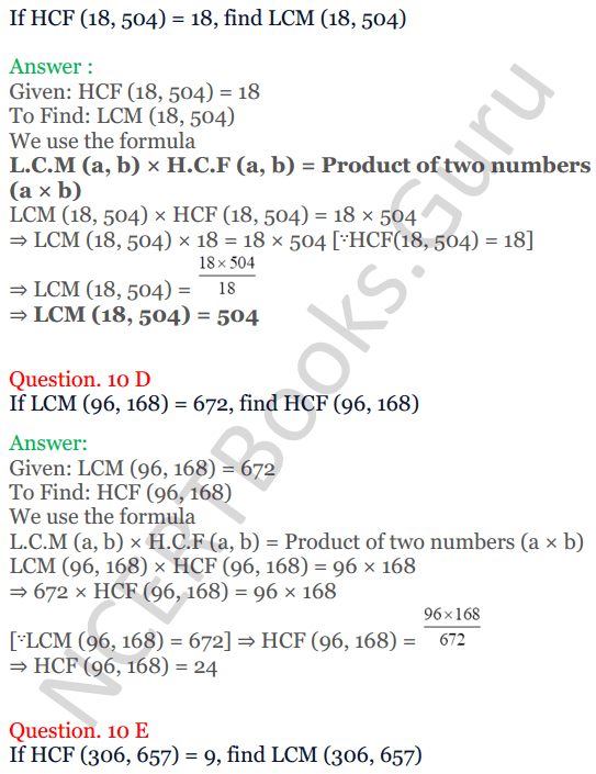 KC Sinha Maths Solutions Class 10 Chapter 1 Real Numbers Ex 1.2 - 27