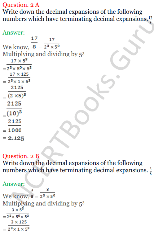 KC Sinha Maths Solutions Class 10 Chapter 1 Real Numbers Ex 1.4 - 10
