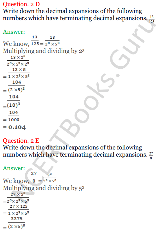 KC Sinha Maths Solutions Class 10 Chapter 1 Real Numbers Ex 1.4 - 12