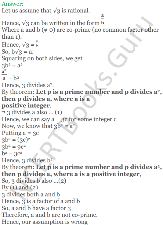KC Sinha Maths Solutions Class 10 Chapter 1 Real Numbers Ex 1.3 - 2