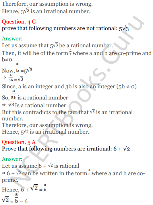 KC Sinha Maths Solutions Class 10 Chapter 1 Real Numbers Ex 1.3 - 5