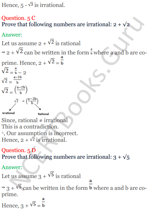 KC Sinha Maths Solutions Class 10 Chapter 1 Real Numbers Ex 1.3 - 7
