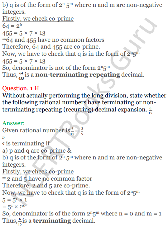 KC Sinha Maths Solutions Class 10 Chapter 1 Real Numbers Ex 1.4 - 6