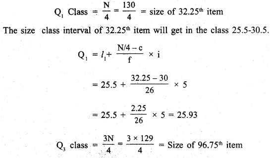 RBSE Solutions for Class 11 Economics Chapter 9 Median 5