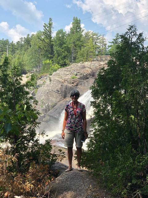High Falls - Linda by the falls