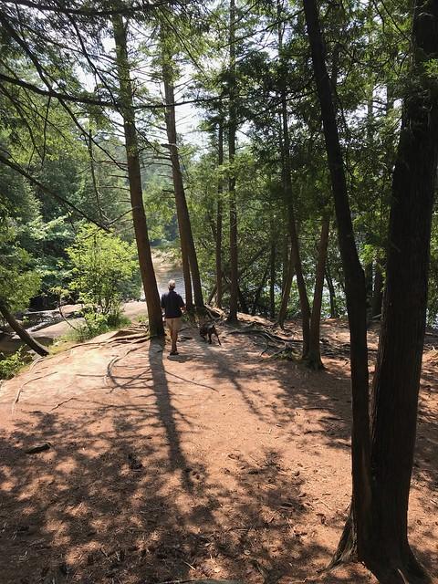 High Falls - a nice walk