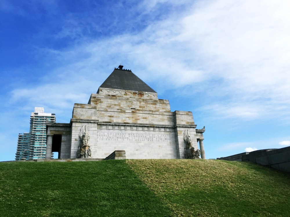 1 July 2016: Shrine of Remembrance | Melbourne, Australia