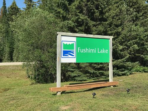 Fushimi Lake Provincial Park - Sign