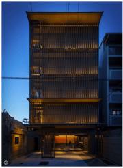 Desain Hotel Ninja Hitam