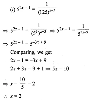 ML Aggarwal Class 8 Solutions for ICSE Maths Chapter 2 Exponents and Powers Ex 2.1 Q14.1