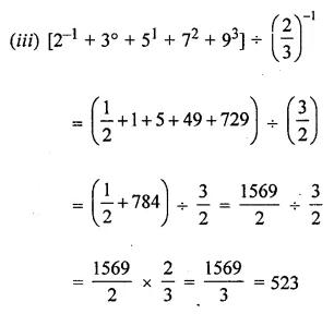ICSE Understanding Mathematics Class 8 Solutions Chapter 2 Exponents and Powers Check Your Progress Q2.2