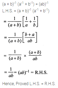 ML Aggarwal Class 8 Solutions for ICSE Maths Chapter 2 Exponents and Powers Check Your Progress Q6