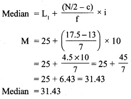 RBSE Solutions for Class 11 Economics Chapter 9 Median 16