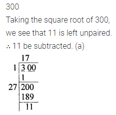 ICSE Mathematics Class 8 Solutions Chapter 3 Squares and Square Roots Objective Type Questions Q12