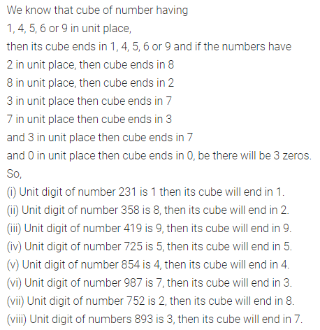 ML Aggarwal Class 8 Solutions Chapter 4 Cubes and Cube Roots Ex 4.1 Q8