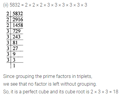 ICSE Understanding Mathematics Class 8 Solutions Chapter 4 Cubes and Cube Roots Ex 4.1 Q2.1