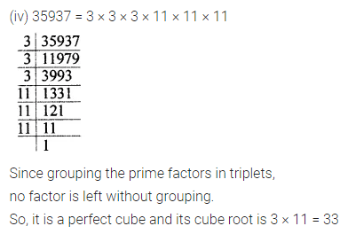 Maths Questions for Class 8 ICSE With Answers Chapter 4 Cubes and Cube Roots Ex 4.1 Q2.3