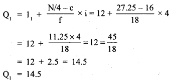 RBSE Solutions for Class 11 Economics Chapter 9 Median 30