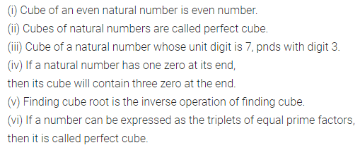 ML Aggarwal Class 8 Solutions Chapter 4 Cubes and Cube Roots Objective Type Questions Q1