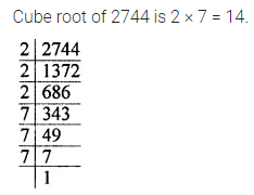 APC Maths Class 8 Solutions Chapter 4 Cubes and Cube Roots Objective Type Questions Q8