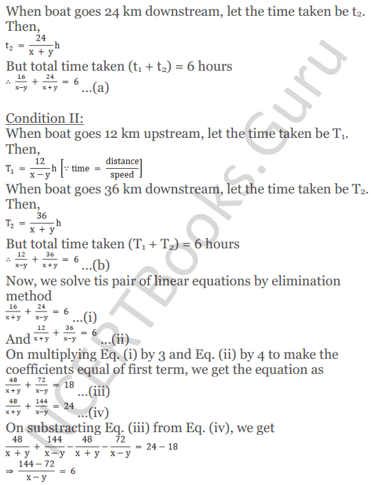 KC Sinha Maths Solutions Class 10 Chapter 3 Pair of Linear Equations in Two Variables Ex 3.5 - 46