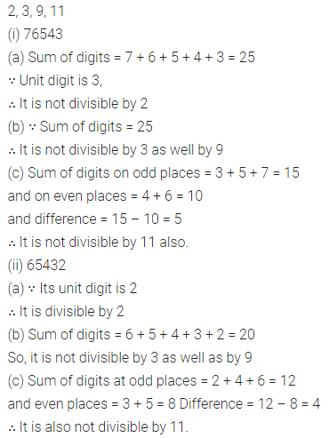 ML Aggarwal Class 8 Solutions Chapter 5 Playing with Numbers Check Your Progress Q6
