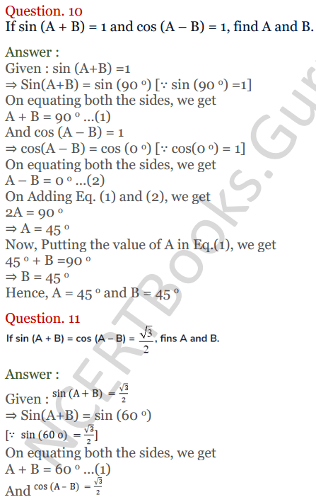 KC Sinha Maths Solutions Class 10 Chapter 4 Trigonometric Ratios and Identities Ex 4.2 - 37