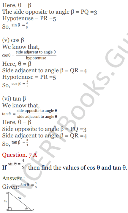KC Sinha Maths Solutions Class 10 Chapter 4 Trigonometric Ratios and Identities Ex 4.1 - 18