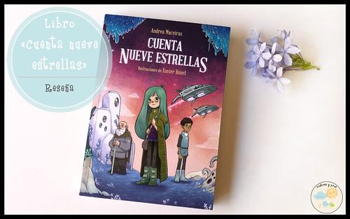 Libro Cuenta nueve estrellas. Reseña
