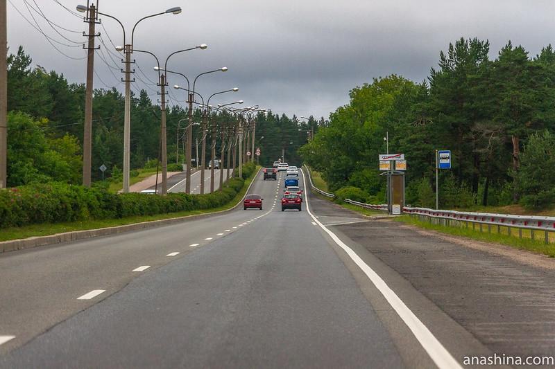 Сестрорецк. Приморское шоссе