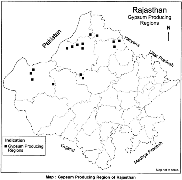 RBSE Solutions for Class 12 Geography Chapter 24 Rajasthan Minerals and Industries 4